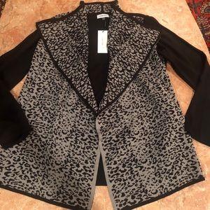 Calvin Klein animal print jacket M